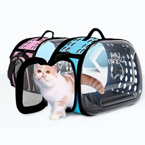 Wide View Travel Pet Carrier Shoulder Bag For Cats and Puppies in Uganda