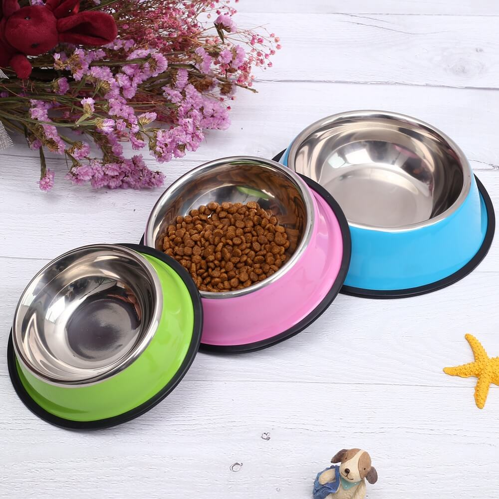 Buy PrettyPet Stainless Steel Food Bowl for cats and dogs in Kampala