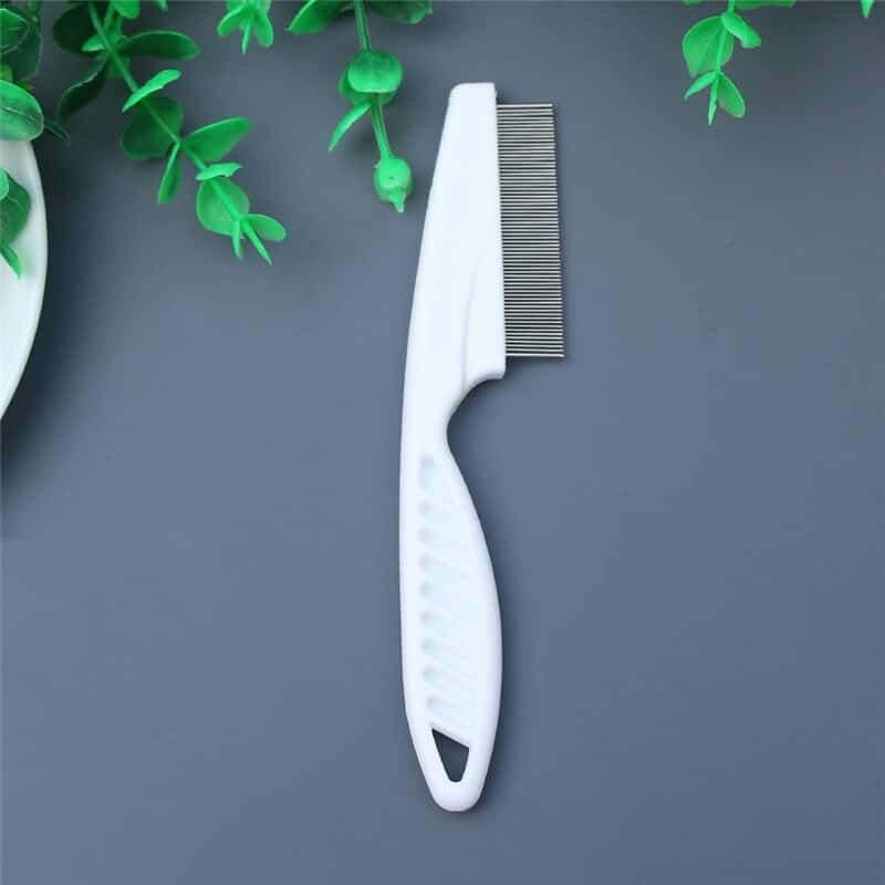 Durable Stainless Steel Pet Flea Comb Grooming Brush For Dogs & Cats in Uganda