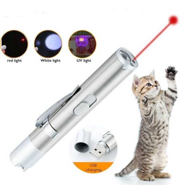 Buy Rechargeable Cat Laser Toy Red Dot Torch in Uganda