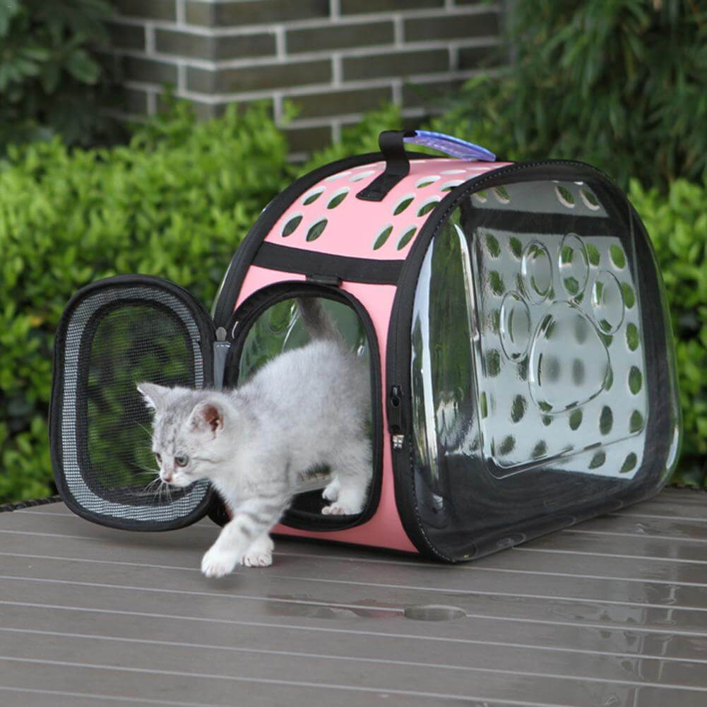 Cat Travel Wide View Travel Pet Carrier Shoulder Bag For Cats and Puppies Uganda