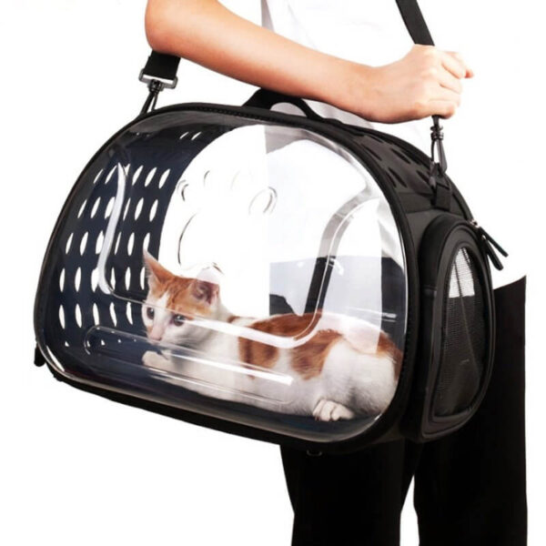 Wide View Travel Pet Carrier Shoulder Bag For Cats and Puppies Kampala