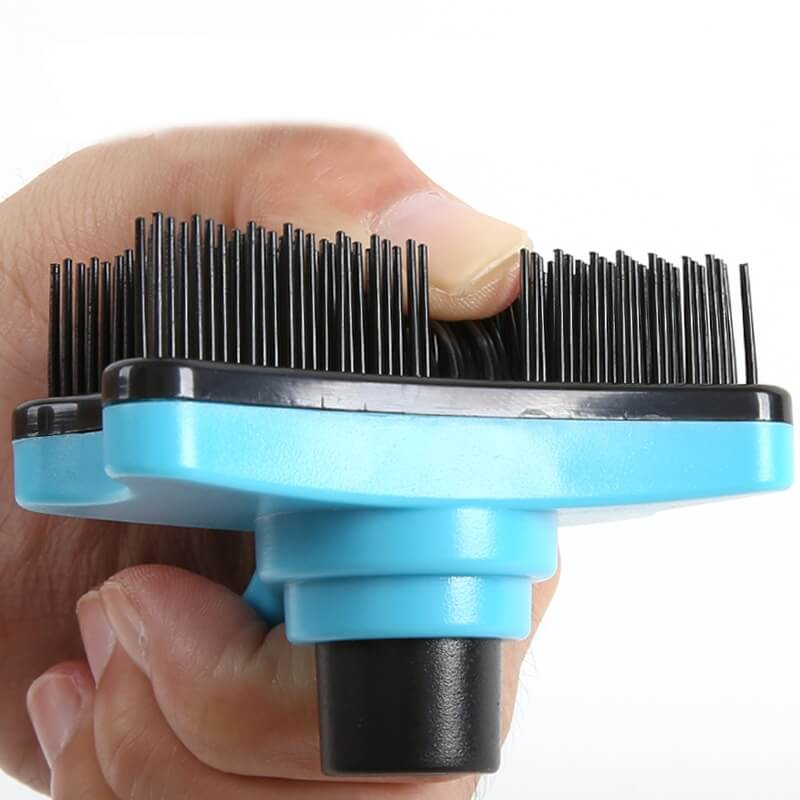 Best Slicker Pet Hair Remover Grooming Brush with Auto-Clean in Uganda